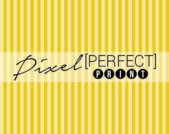 """4ft x 4ft """"Plain Yellow"""" Vinyl Backdrop / Vinyl Backdrops / Photography Backdrop / Yellow Backdrop / Stripe Pattern Backdrops (PP005)"""