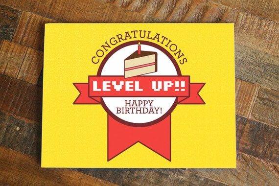 Gamer Happy Birthday