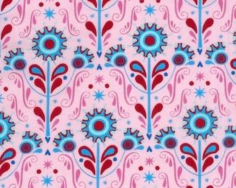 Ella Blue Chirpy Lola Forest Pink (Half metre)