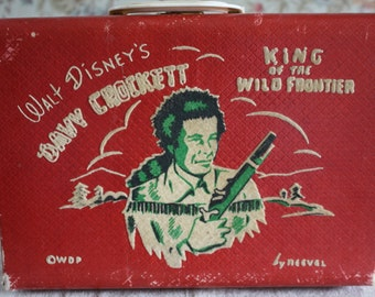 Walt Disney Davy Crockett Child's Suitcase