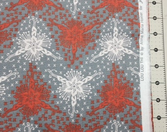 Triflora in Silver - Loulouthi by Anna Maria Horner - 1 yard cotton fabric