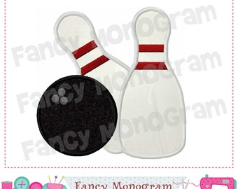 Bowling applique,Bowling embroidery,Bowling design,Sports design,Sports applique,Girl applique,machine  Embroidery 10