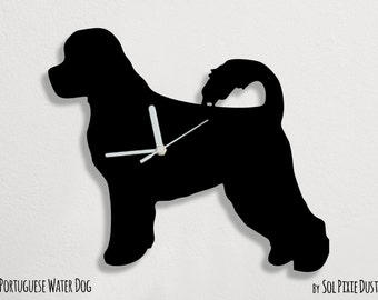 Portuguese Water Dog - Wall Clock