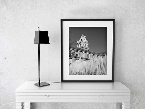 Texas Tech Bell Tower Fine Art Print Lubbock Red Raiders TTU