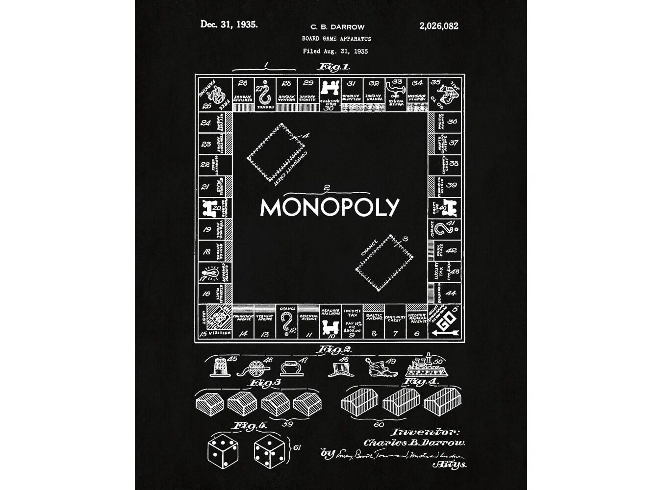 Монополию версию для печати