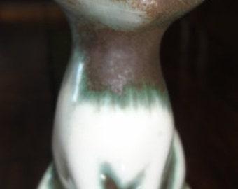 Vintage Green/Brown Tone Haeger Cat