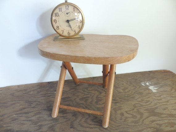Vintage Mid Century Nevco Fold N Carry Wooden By Daftanddotty