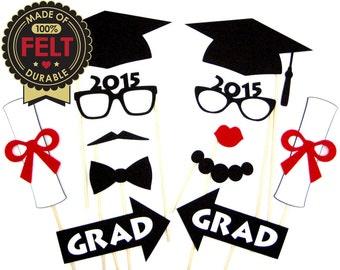 Graduation Photo Props - Made of FELT