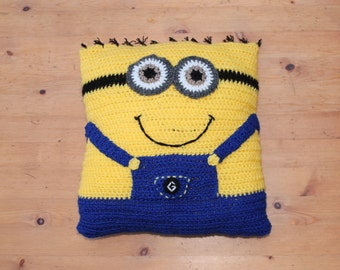 Free Minion Cushion Crochet Pattern : Despicable me pillow Etsy