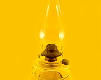Vintage Hurricane Oil Lamp