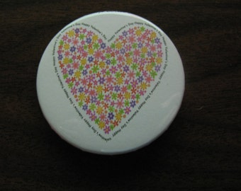 Heart of Flowers Magnet