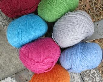 Alpaca wool 100%! Colors in stock!