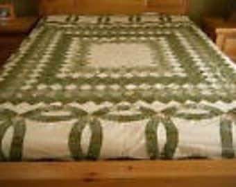 Patchwork Quilt Top.         SALE 50% Off.   Code:   Allgo50