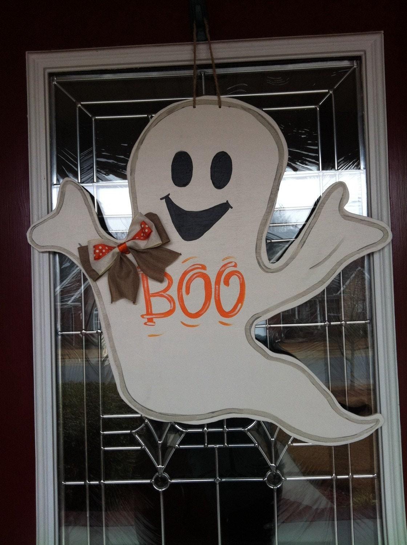 Cute Scary Halloween Ghost Door Hanger