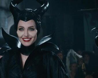 Maleficent Horns + Neckwrap for Aurora's Christening