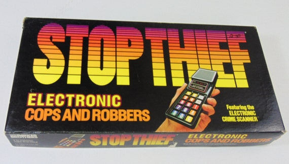 Stop Thief Board Game Vintage Board Game Stop