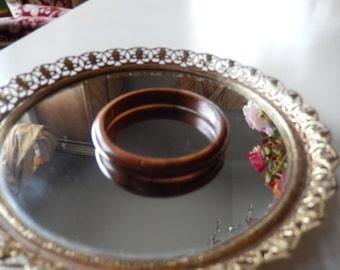 WOOD TONE BANGLE Bracelet