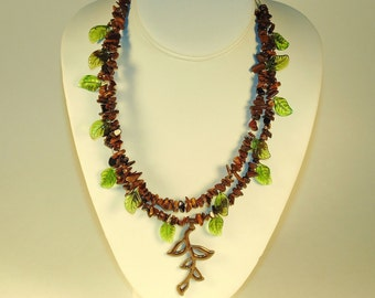 2 Layer Woodland Necklace