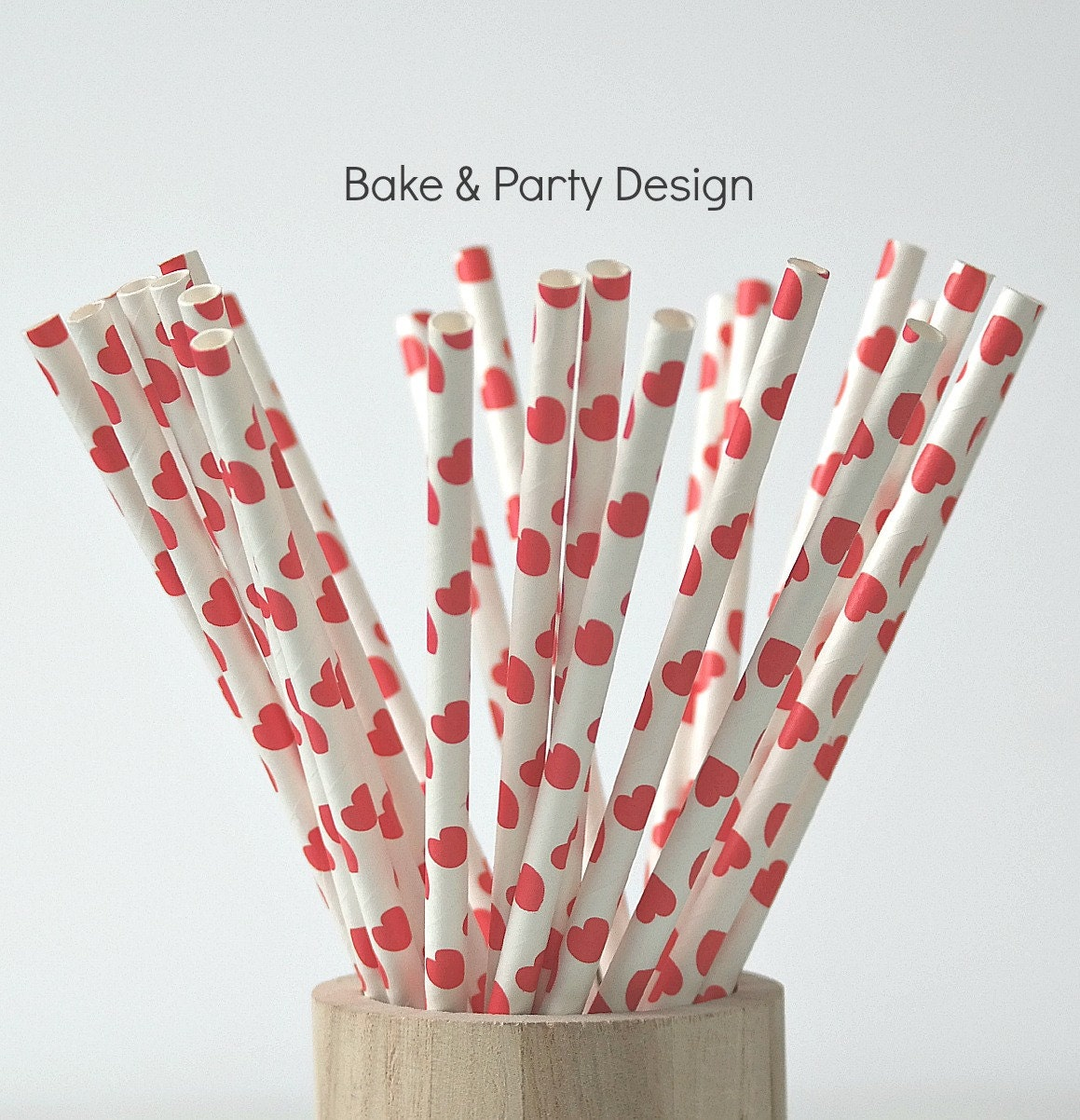 heart on a paper straw paper straws hearts straws mix straw mix set 6703