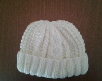 baby boy hat, irish boy hat, baby boy beanie hat, boy beanie hat, boy hat age 2-3  ready to ship