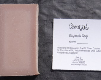 Coconut Handmade Cold Process Soap