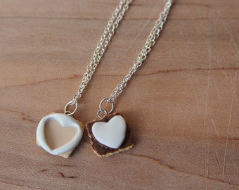 Clay Smore Freindship Necklace