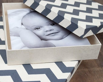 Handmade Chevron Box