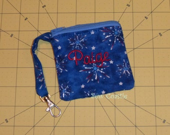 In The Hoop 4 x4 zippered bag