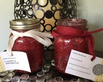 Cranberry Marmalade Soy 16oz. Mason Jar Candle