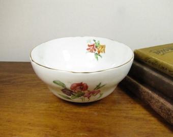 Vintage Small Floral Bowl - Guaranteed English Bone China
