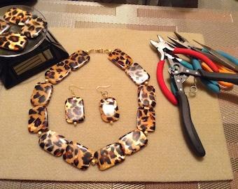 Necklace Set (Animal Print)