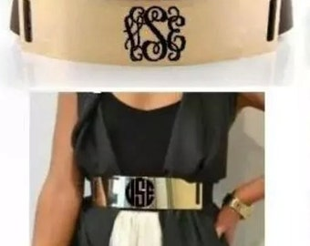 "The Monogrammed ""Cleopatra"" Belt ***FREE SHIPPING***"