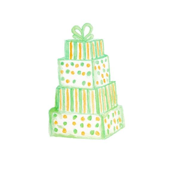 Yellow Cake Clip Art : Wedding Cake Clip Art Green Cake Yellow Cake Clipart