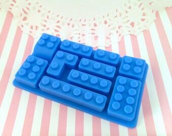 Silicone Lego Building Brick Mold Casting