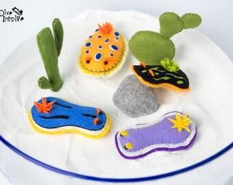 Nudibranch / sea slug magnet