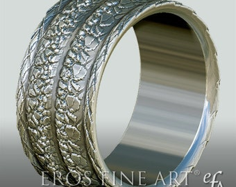Ring No. 6 - Bandring  - Men's Ring - Men's Jewelery - silverring – gift – sterlingsilver