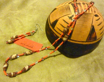 Necklace of rare vintage African beads - LIMITED NUMBER AVAILABLE