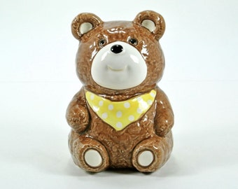 Bank Teddy Bear Otagiri OMC Japan