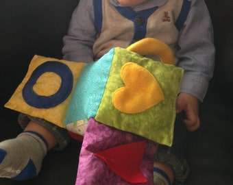 Baby explore soft block.