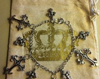 Cross bracelet - great gift !!!