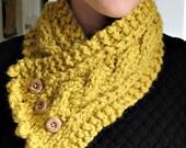 Fisherman's Wife Cowl, handmade scarf