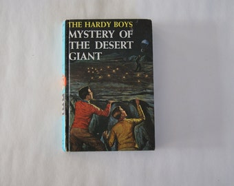 Vintage 1961 - The Hardy Boys The Mystery of the Desert Giant