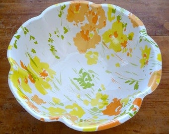 Large Plastic Serving Bowl