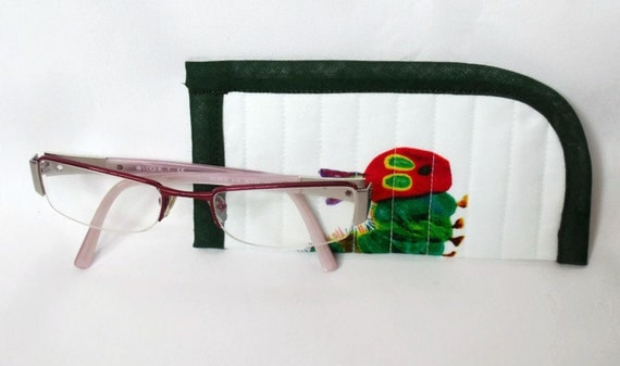 childs glasses case, quilted spectacle holder, sunglasses cover, eyeglasses case, quilted glasses protector, glasses holder,
