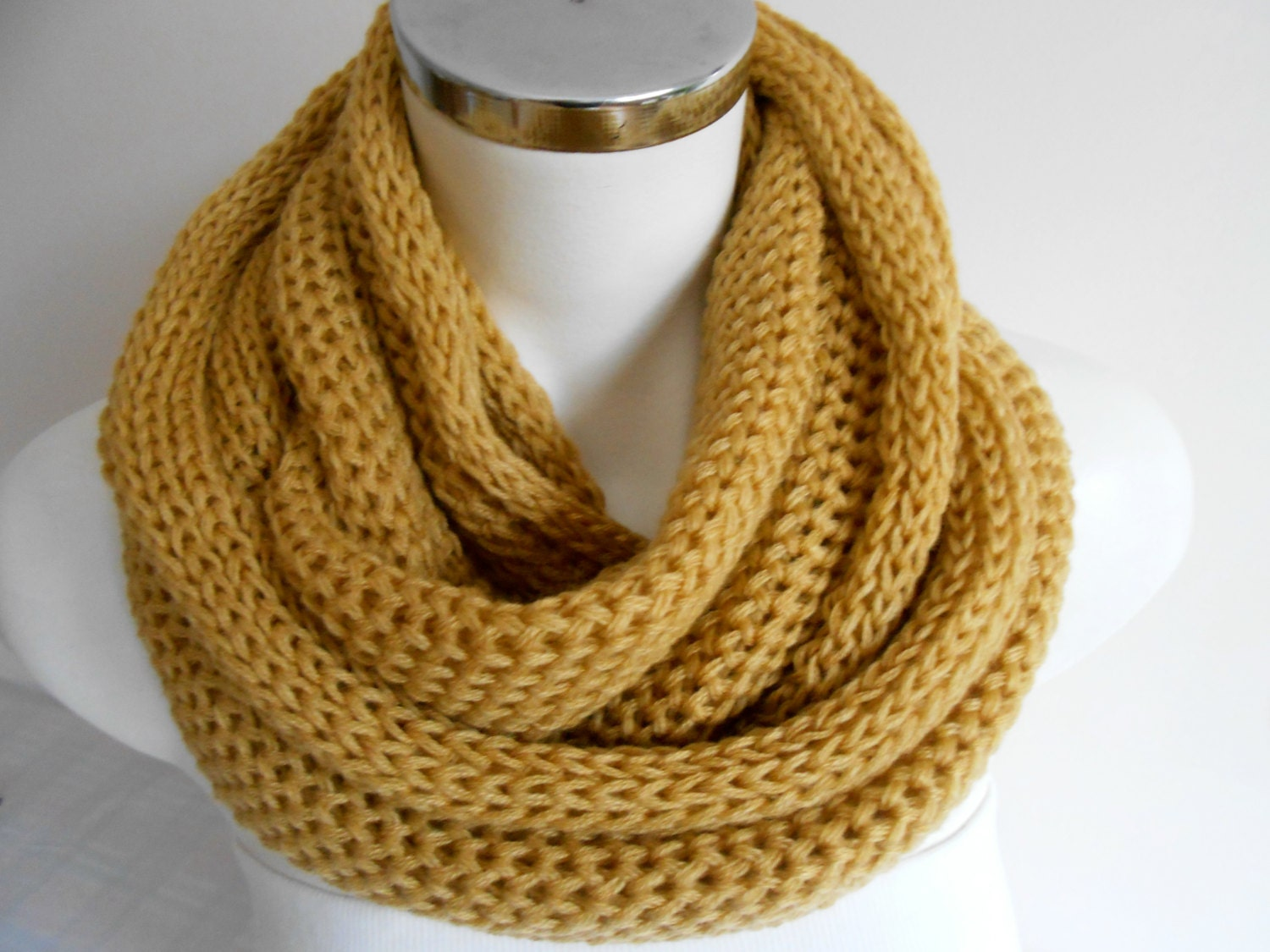 infinity scarves s scarves mustard yellow by