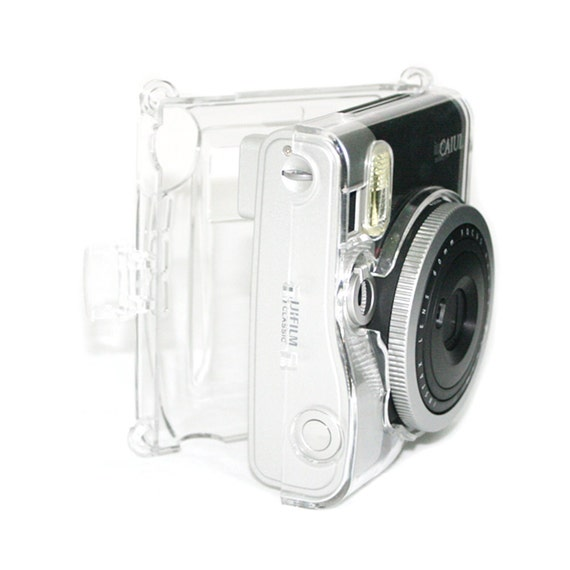 Fujifilm Instax Mini 90 Camera Case Crystal Clear Transparent