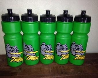 SALE Personalized Sports School Team Mascot Water Bottle 28oz