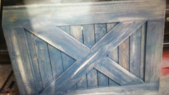 Rustic Farmhouse Solid Wood Baby Or Pet Gate