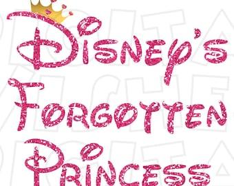 Disney's Forgotten Princess Digital Iron on transfer clip art INSTANT DOWNLOAD Image DIY for Shirt