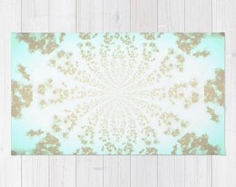 Area Rug Ethereal Tiffany Rug Gray Decorative Rug Woven